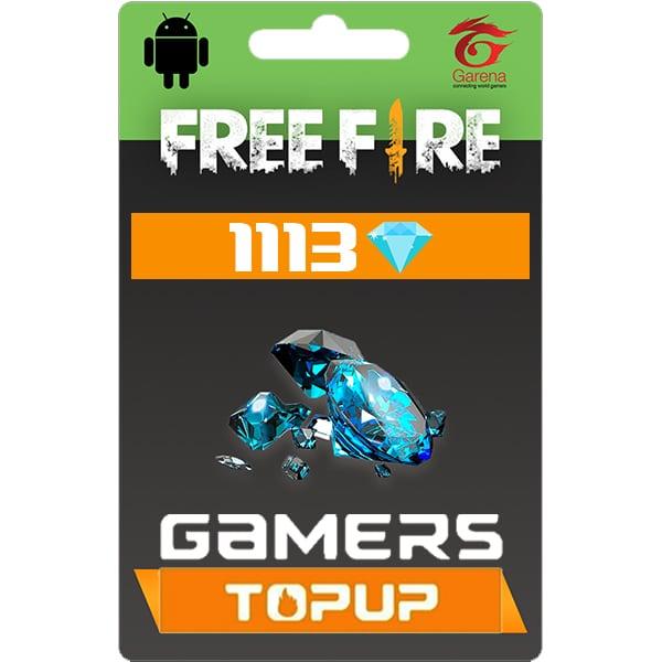 Garena Free Fire 1113 Diamond Topup By Bkash Gamers Topup