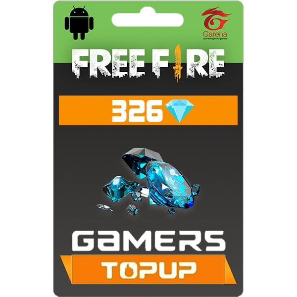 Garena Free Fire 326 Diamond Topup Bd Gamers Topup